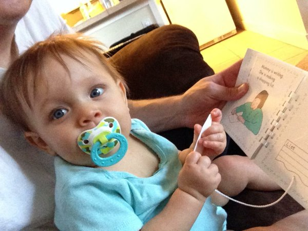 Reading with Lily