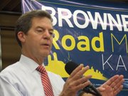 "Gov. Sam Brownback outlines his economic agenda for a second term, calling his plan ""Road Map 2.0,"" an extension of his campaign theme from 2010."