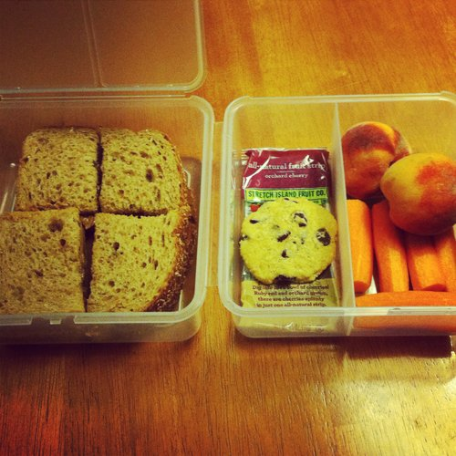 School lunch is a go.