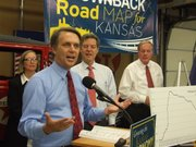 Lt. Gov. Jeff Colyer claims that after a decade of job losses in the 2000s, Kansas has reached record employment levels since Gov. Sam Brownback took office. But figures from the U.S. Bureau of Labor Statistics show otherwise.
