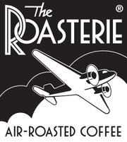 Logo for the Roasterie, a Kansas City, Mo., based coffee company that air-roasts its own beans.