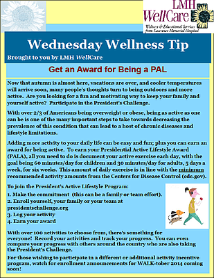 LMH WellCare Wellness Tip
