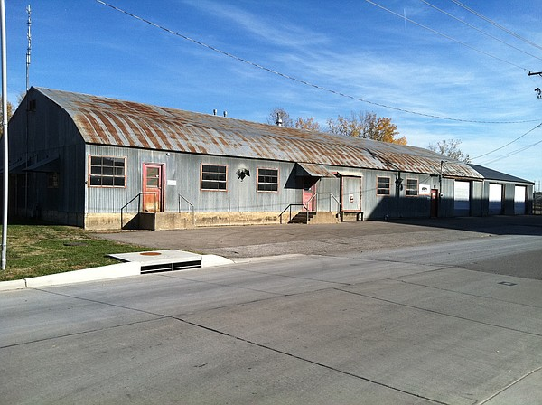The Black Hills Energy Quonset hut near Eighth and Penn. streets.