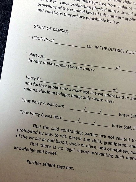 Same sex marriage license online in Perth