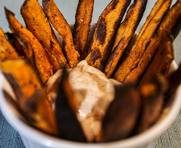 Thanksgiving Sweet Potato Fries