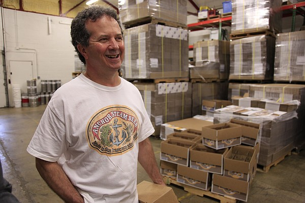 Free State Brewing Co. owner Chuck Magerl, seen here in this 2010 photo, was recently inducted into the Kansas 