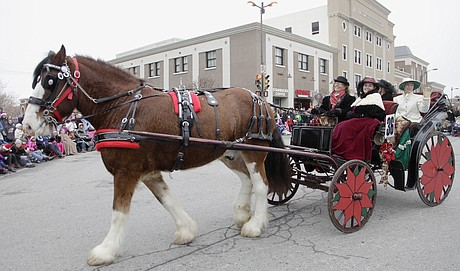 Lawrence Old Fashioned Horse Parade
