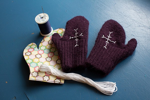 Recycled Mittens
