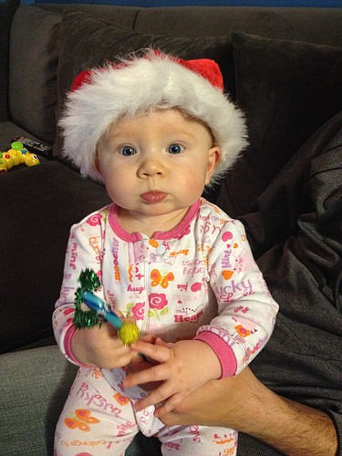 HJ's first Christmas 2011