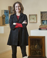 Susan Tate, CEO of the Lawrence Arts Center
