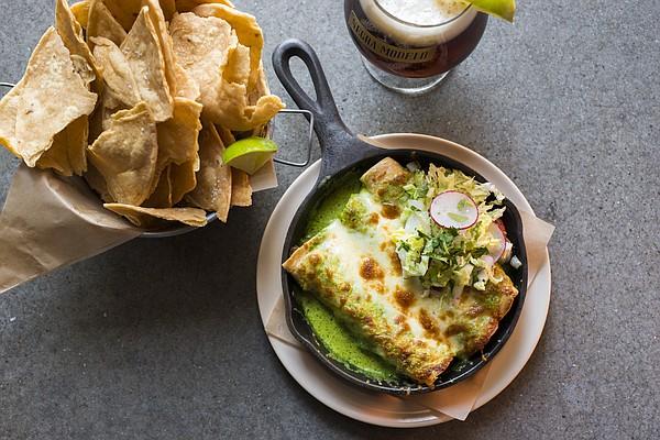 Enchiladas de Pollo at Port Fonda