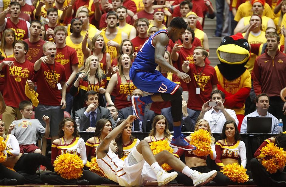 Kansas basketball v. Iowa State | KUsports.com