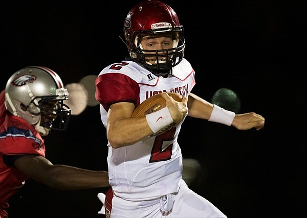 Carter Stanley, one of KU football's newest quarterbacks out of Vero Beach, Florida, figures to be one of the first to make his commitment official on national signing day. (Photo courtesy Hobie Hiler/Special to Treasure Coast newspapers)