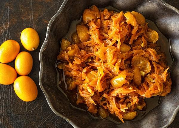 Gingered Kumquat and Carrot Chutney