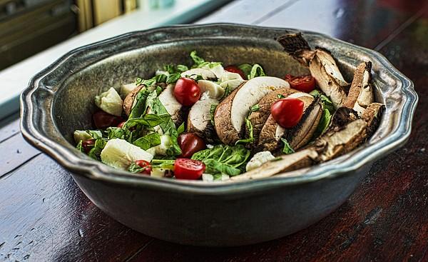 Portobello Caprese Salad