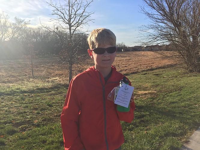 Jared is thrilled to have his 2nd marathon under his belt