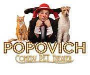 Popovich Comedy Pet Theater, 7 p.m. April 29