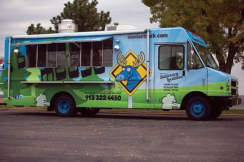 The Moose Truck, in connection with The Blue Moose restaurants, serves handcrafted American favorites with a twist.