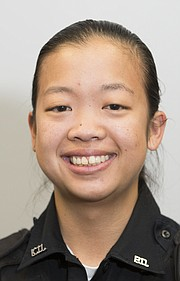 Officer Natalie Nguyen, Kansas University Public Safety Office