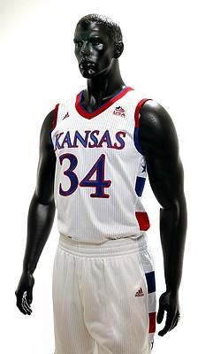 Kansas University basketball uniforms for the 2015 World University Games.