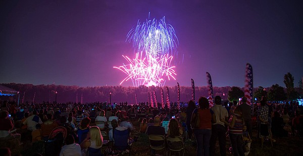 Berkley Riverfront Park Kansas City Fireworks