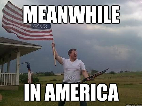 "The ""American Flag Shotgun Guy."""