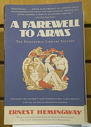 "The KU Common Book for 2015-16 is ""A Farewell to Arms"" by Ernest Hemingway."