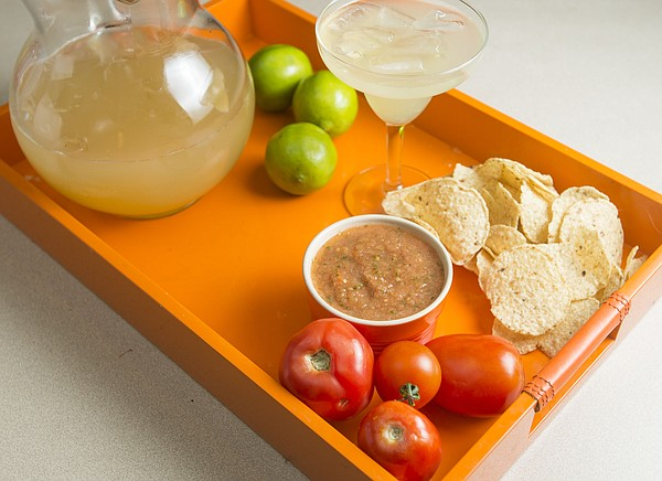 Restaurant-Style Salsa and a Three-Ingredient Margarita