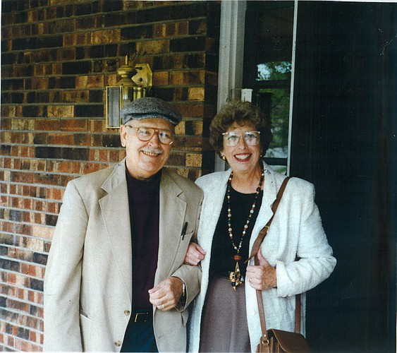Dr. Franklin and Nancy Shontz.
