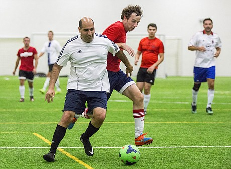 Amateur league soccer adult