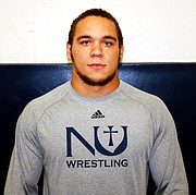 Former Lawrence High wrestler and Newman University athlete Reece Wright-Conklin