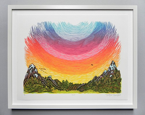 """Valley"" by Paul Roden and Valerie Lueth (Tugboat Printshop)"