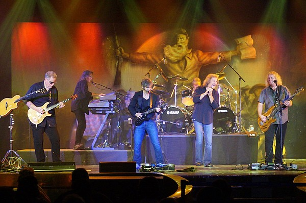 Legendary rock band Kansas will perform Oct. 2 at the Lied Center.