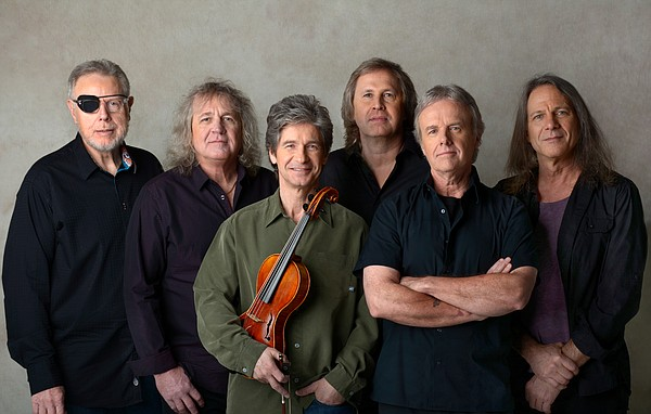 "Kansas will perform Friday at the Lied Center. Founded in Topeka in 1969, the classic rockers are known for their hits ""Carry on Wayward Son"" and ""Dust in the Wind."""