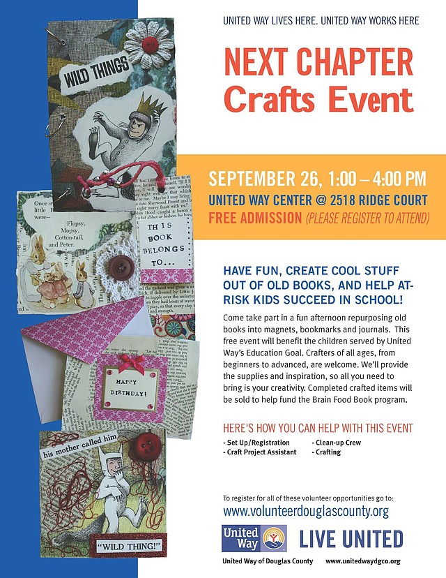 Photo: United Way of Douglas County Next Chapter Crafts ...