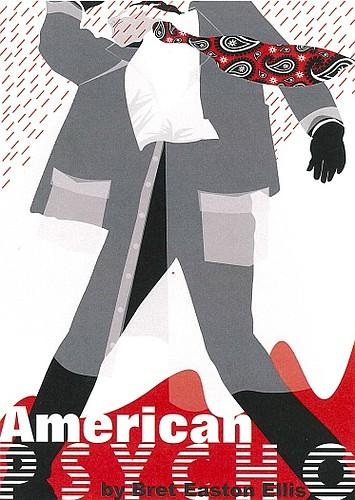 "Artist: Lana Grove Book: ""American Psycho"" by Bret Easton Ellis"