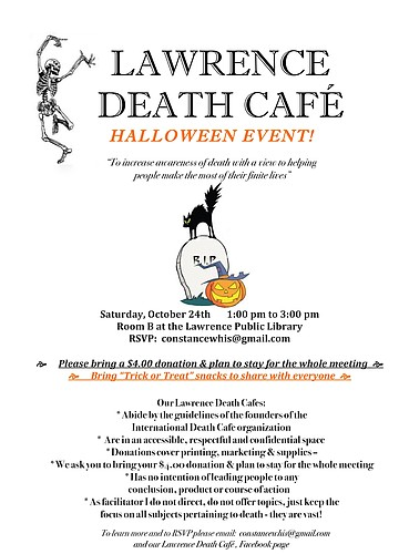 HALLOWEEN - LAWRENCE DEATH CAFE