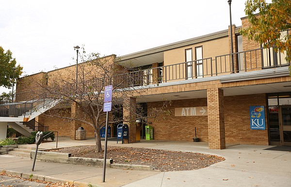 The Burge Union, shown on Thursday, Oct. 22, 2015, is slated to be razed and rebuilt and part of Kansas University's Central District redevelopment plans.