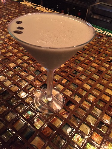 The Samuel Clemens martini at Genovese, 941 Massachusetts St.