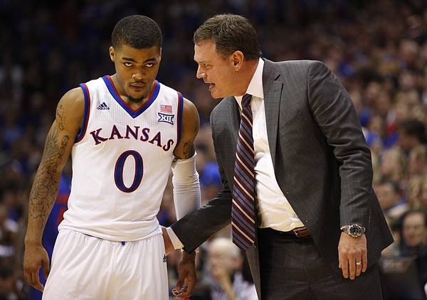 Kansas head coach Bill Self, point guard Frank Mason and the Jayhawks will open their season tonight with an exhibition game with Pittsburg State.