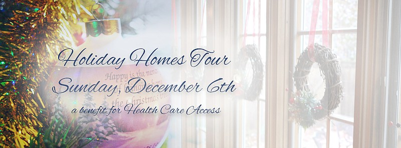 Holiday Homes Tour - Sunday, December 6th in Lawrence, KS.