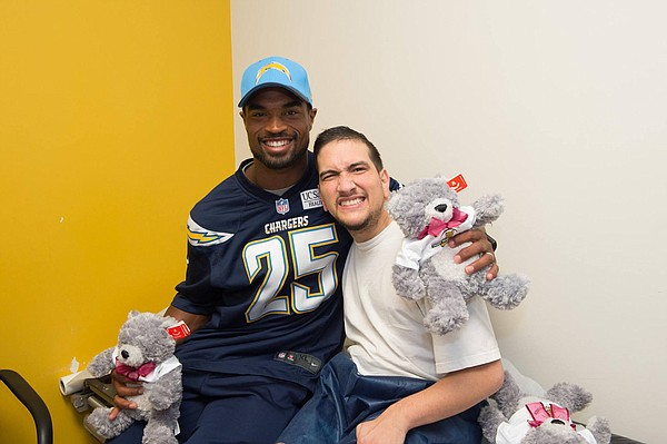 Current San Diego Charger and former Kansas great Darrell Stuckey recently was named San Diego's nominee for the 2015 Walter Payton NFL Man of the Year award.