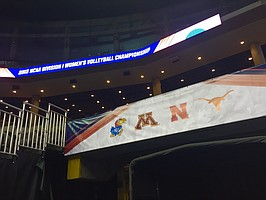 This year's NCAA women's volleyball tournament Final Four at CenturyLink Center features four schools from the Central time zone.