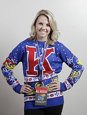 KU basketball fans break holiday-sweater world record / LJWorld.com