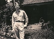 Grant Goodman pictured while stationed with the U.S. Army in Asia, circa 1945.