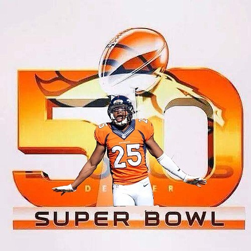 After missing out the last time around, former Kansas cornerback Chris Harris will represent the Denver Broncos and KU football in Super Bowl 50. (Photo courtesy John Maestas, Facebook)