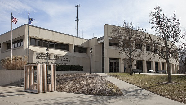 The Douglas County Judicial and Law Enforcement Center, 111 E. 11th St.