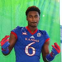 "New KU cornerback Kyle ""Money"" Mayberry."