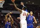 Kansas basketball v. Oklahoma
