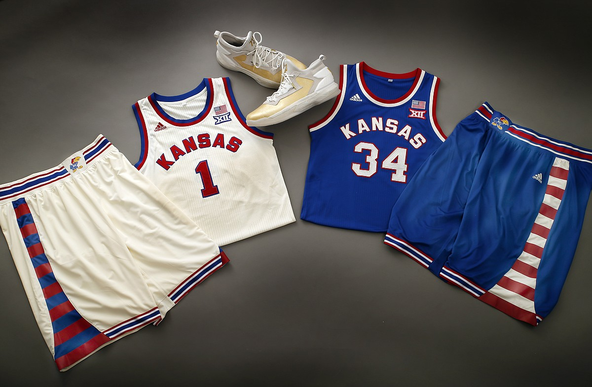 adidas and the Kansas University basketball program on Tuesday unveiled two  special uniforms that KU will wear during road games at Baylor (Feb. 24a02a6e2